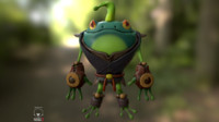 frog obj free