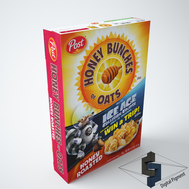 honey bunches oats roasted 3d 3ds