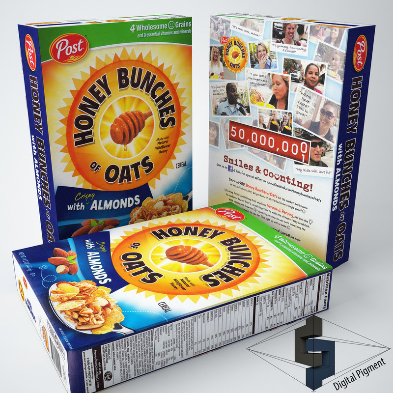 honey bunches oats almonds max