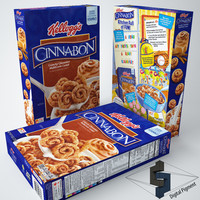 max kellogs cinnabon cereal box