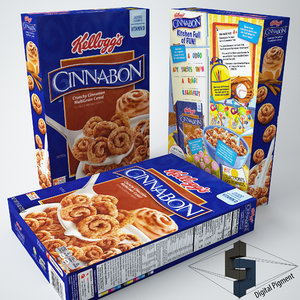 max kellogs cinnabon cereal box