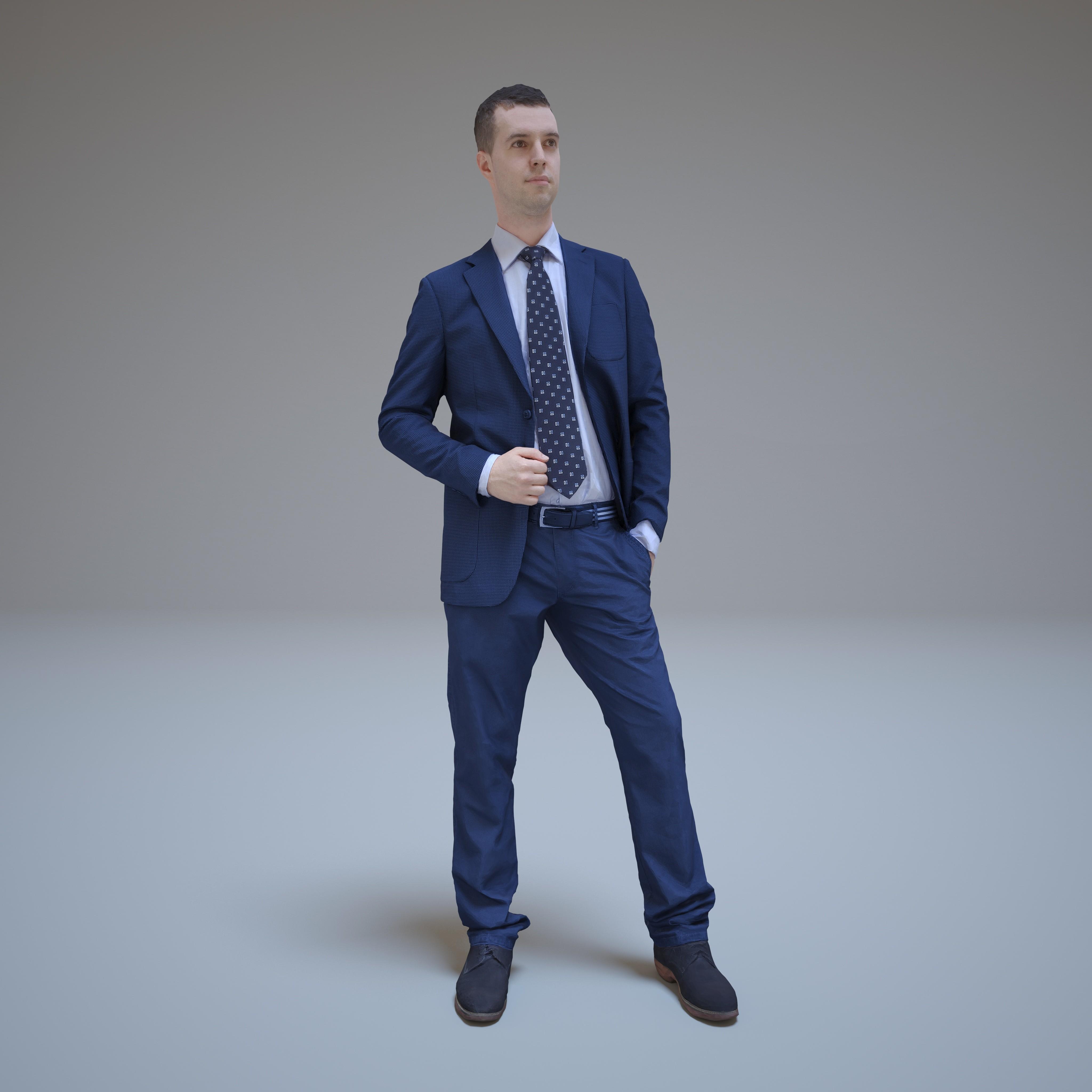 man business 3d model