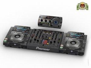 pioneer cdj 2000 nexus 3d obj