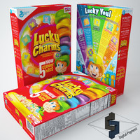 3d model lucky charms
