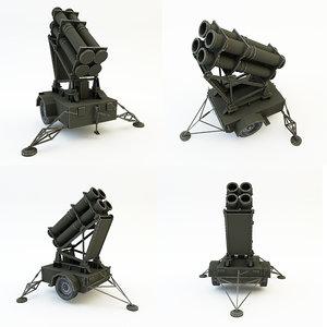 rocket launcher 3d max