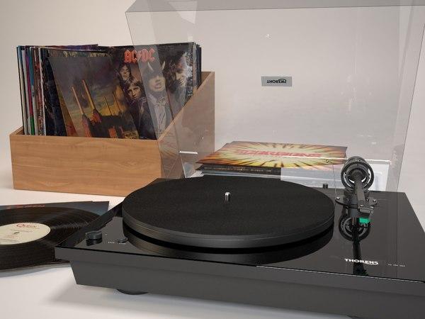 max realistic vinyl records