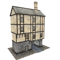 medieval gate house 3ds