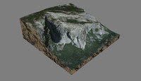 mesh el capitan yosemite 3d model