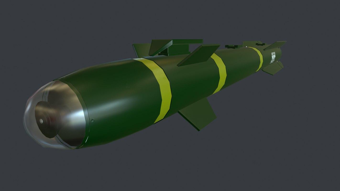 3d max agm missile