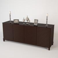3d baker cabinet 3400 model