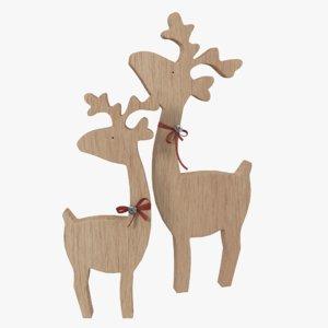 christmas reindeer 3d 3ds
