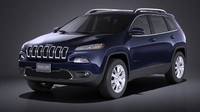 Jeep Cherokee Limited 2016 VRAY