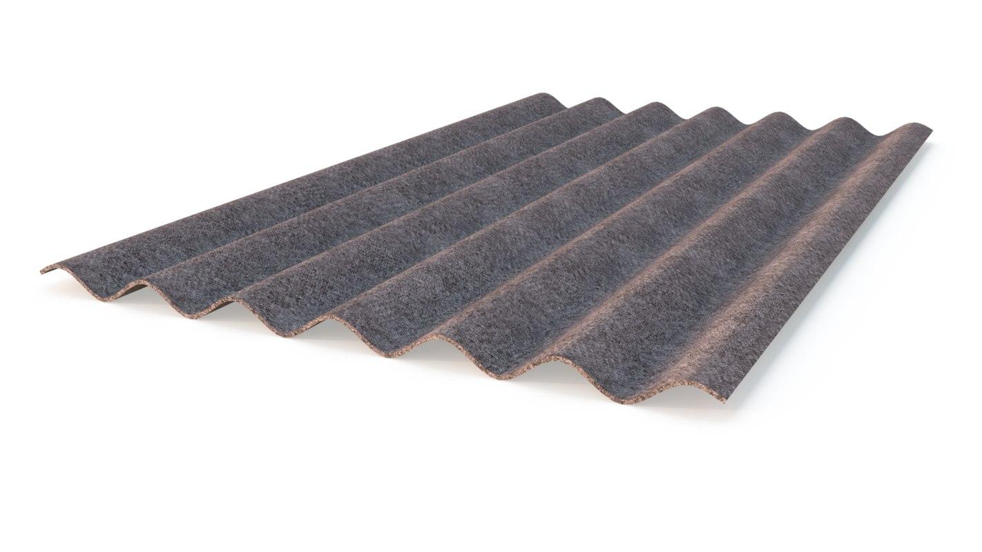 3d model slate roof