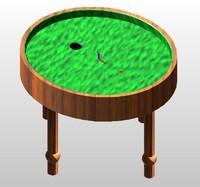 loop table 3d fbx