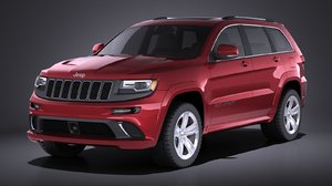 3d model 2016 grand jeep