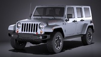 3d model jeep wrangler rubicon