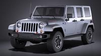 Jeep Wrangler Rubicon 2017 VRAY