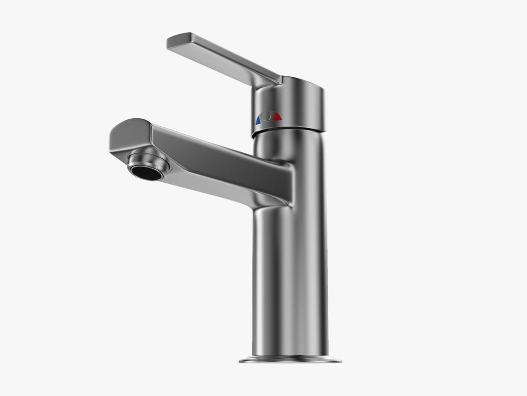 3d bathroom faucet