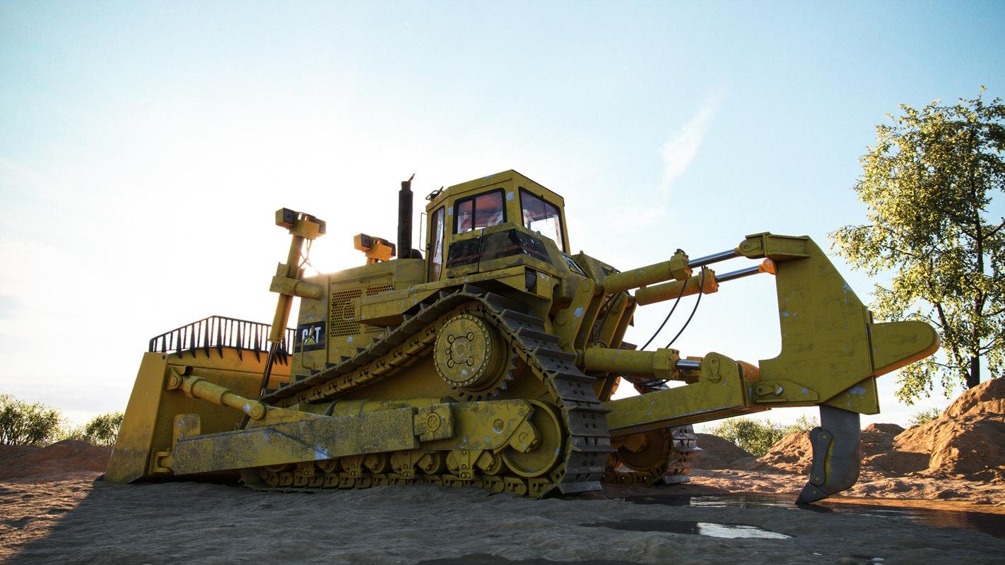 cat d-10 bulldozer max