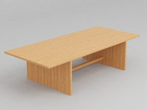 free max model dining table plank