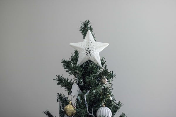 3d 3dprint christmas tree star model
