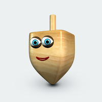 3d sevi - talking dreidel