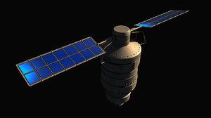 3ds space satellite