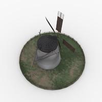 3d model wind