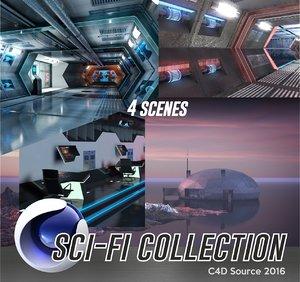 c4d sci-fi pack