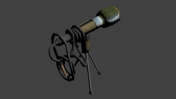 microphone 3d 3ds