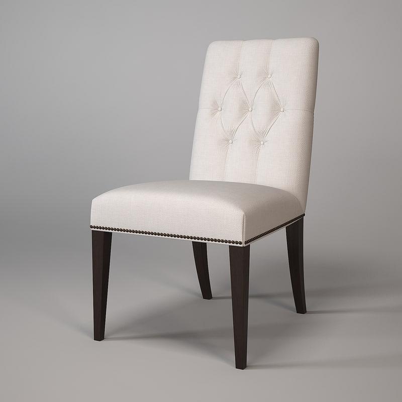 baker chair 7846 max
