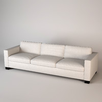baker castellane sofa 3d 3ds