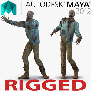 ma zombie rigged