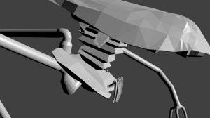 3d model tripod war worlds