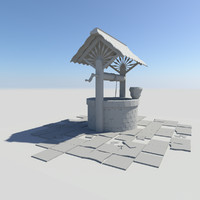 3d model water