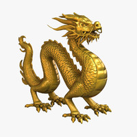 Chinese Dragon Statue 4