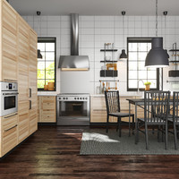 3d model ikea metod kitchen torhamn