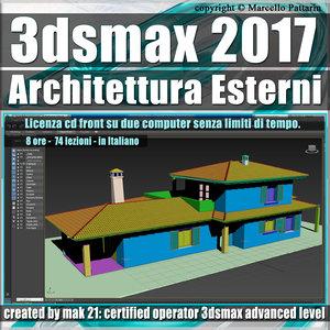 012 3ds max 2017 Architettura Esterni 12.0 Italiano cd front