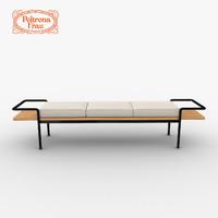 Poltrona Frau T904 Bench
