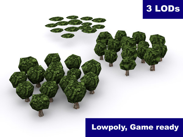 3ds forest lods