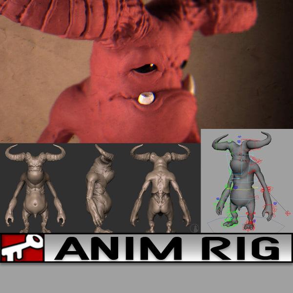 rig 2014 animation 3d ma