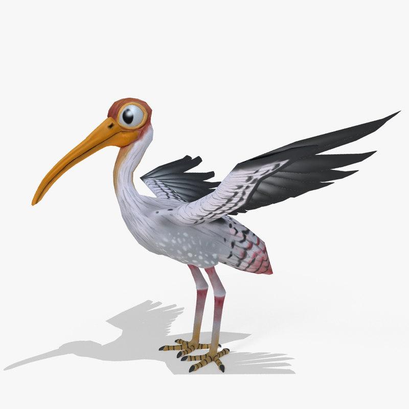 cartoon stork max
