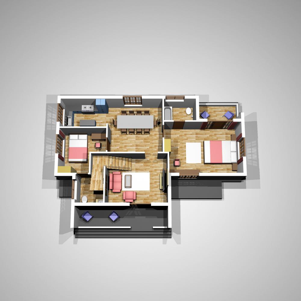 Model Kerala Home