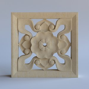 3d decorative 1 model