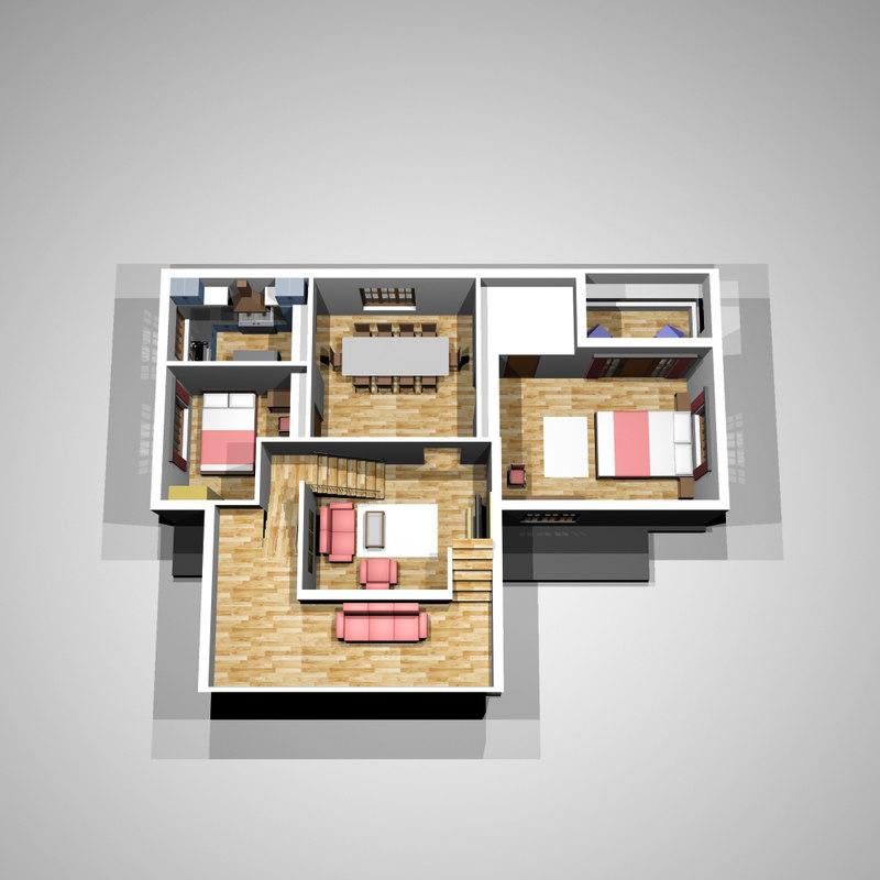 3d model kerala home on home design 3d, house plans 3d, kerala interior design 3d,