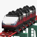 Rollercoaster Seat 3D models
