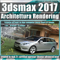 013 3ds max 2017 Architettura Rendering vol13 cd front