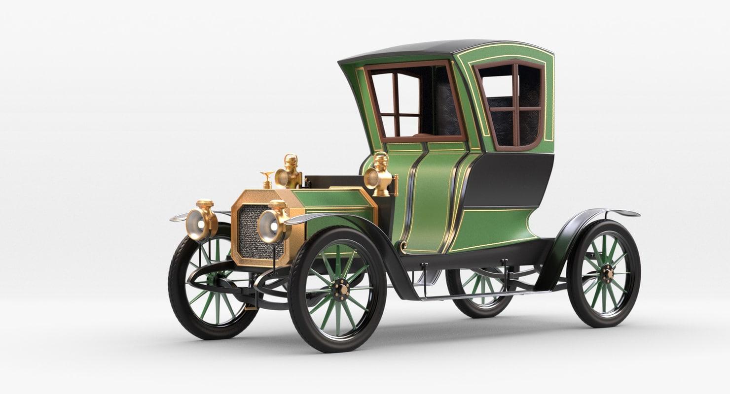 simple rochet schneider 1909 fbx free
