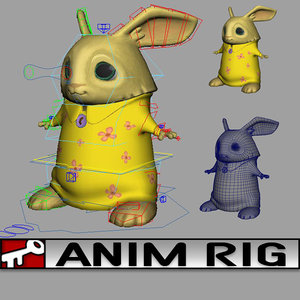 3d model rig 2014 animation