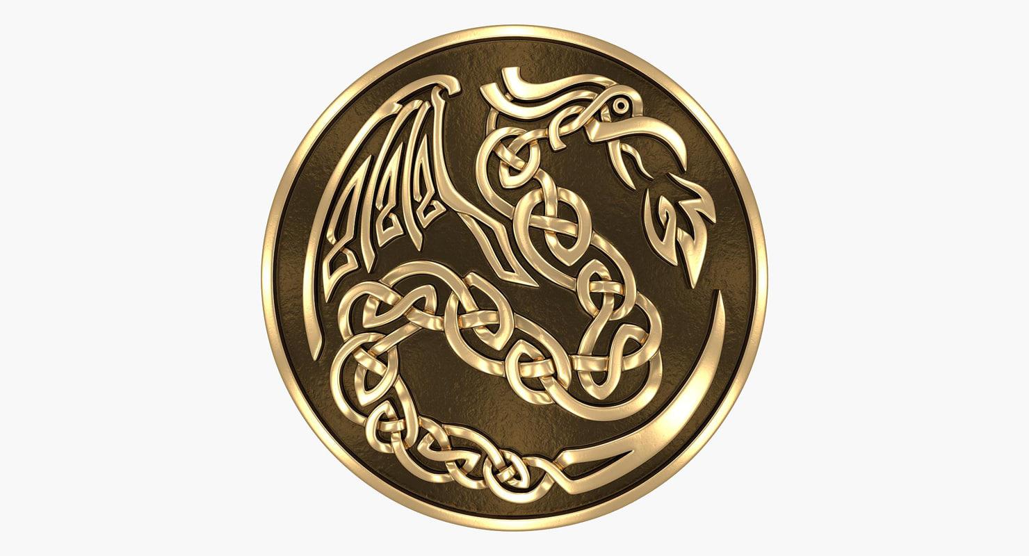 dragon bronze 3d max